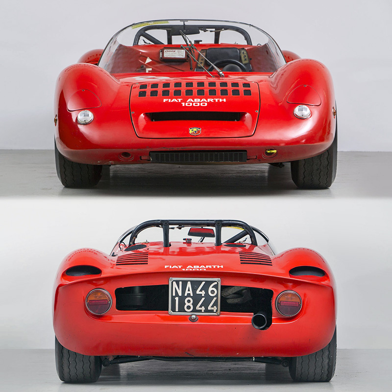 Fiat 500 Abarth 0 60 >> 1966 Fiat Abarth 1000 SP - specifications, photo, price, information, rating