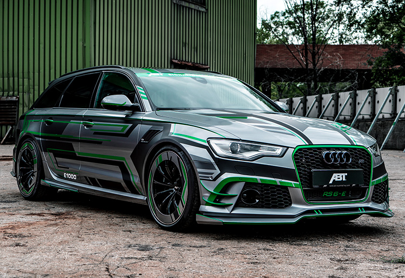 2018 Audi RS6-E Prototype ABT