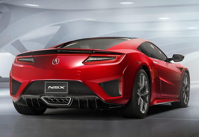 2016 acura nsx specifications photo price information rating. Black Bedroom Furniture Sets. Home Design Ideas