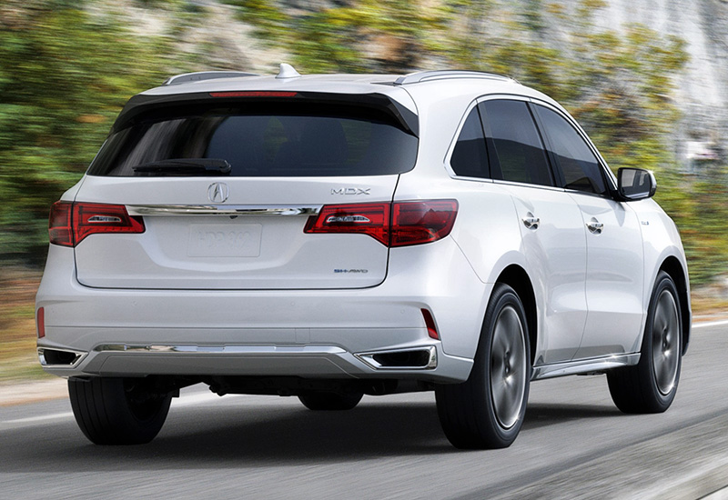 2017 acura mdx sport hybrid sh awd specifications photo price information rating. Black Bedroom Furniture Sets. Home Design Ideas