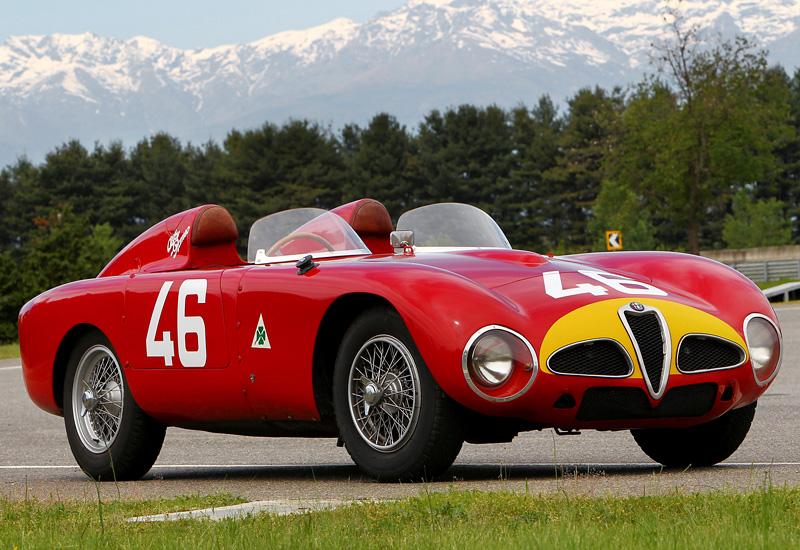 1953 Alfa Romeo 6c 3000 Cm Colli Spider Specifications