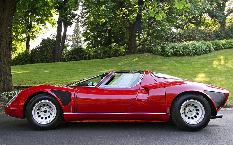 1967 Alfa Romeo Tipo 33 Stradale Specifications Photo