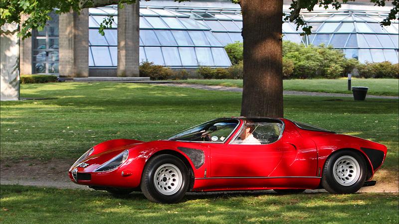 1967 Alfa Romeo Tipo 33 Stradale Prototipo  wsupercarscom