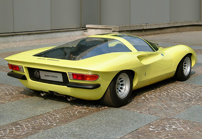 183 Kph To Mph >> 1970 Alfa Romeo 33 Pininfarina Concept - specifications, photo, price, information, rating