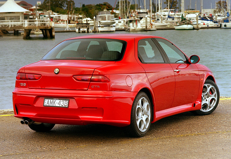 2002 Alfa Romeo 156 GTA - specifications, photo, price, information, rating