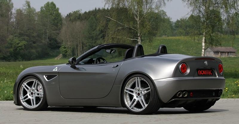 2011 Alfa Romeo 8C Spider Novitec