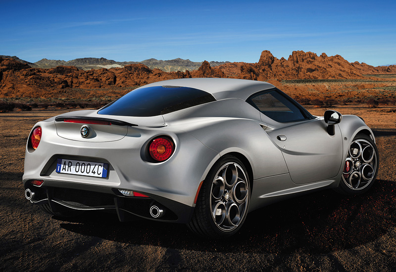 2013 alfa romeo 4c specifications photo price information rating. Black Bedroom Furniture Sets. Home Design Ideas