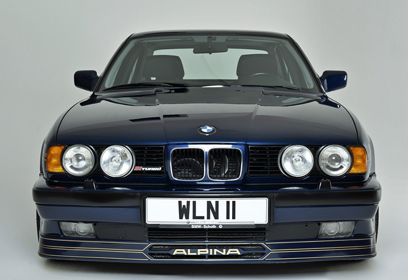 1990 Alpina B10 Bi-Turbo (E34) - specifications, photo ...