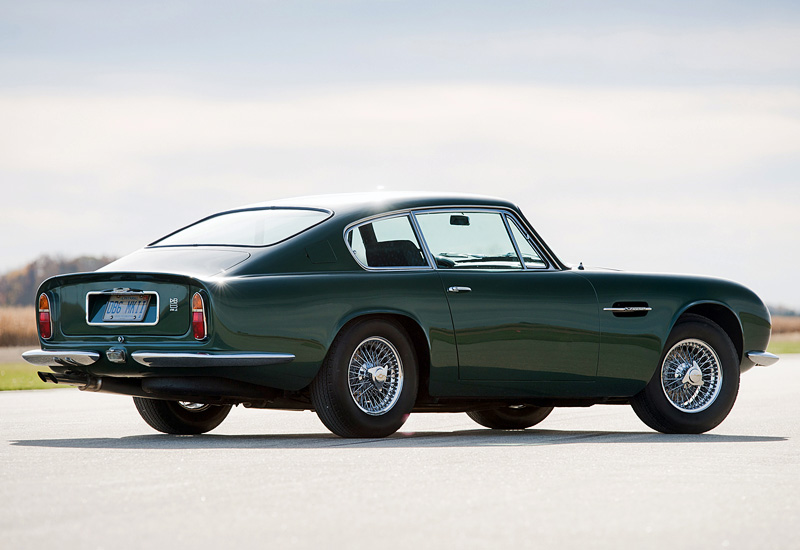 1969 Aston Martin DB6 Vantage (MkII) - specifications ...