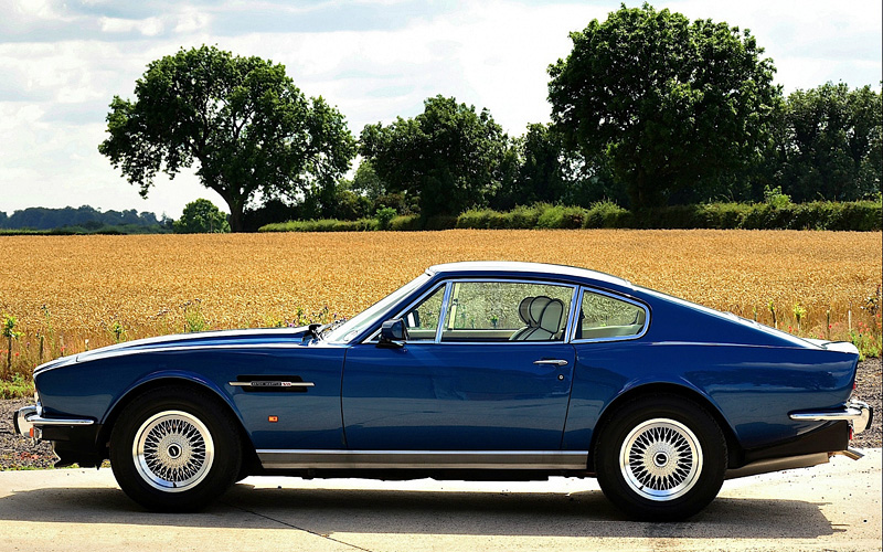 1989 Aston Martin V8 Coupe Specifications Photo Price