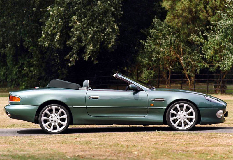 1999 aston martin db7 vantage volante specifications