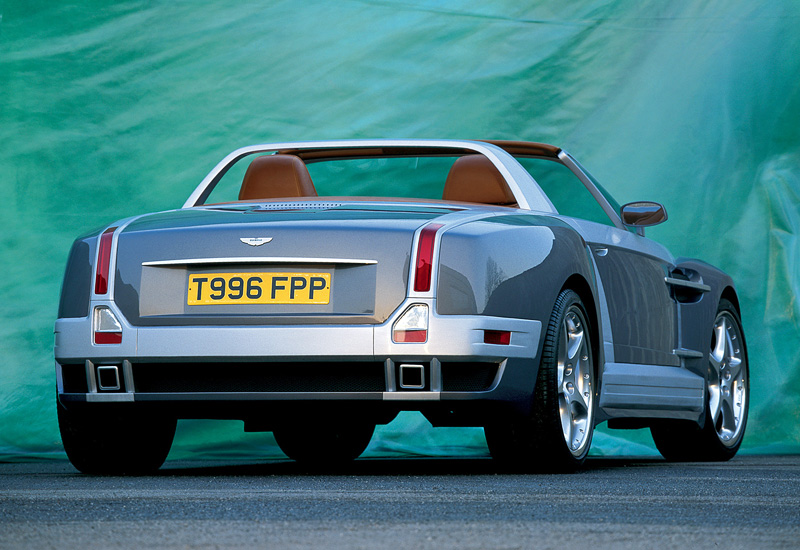 200 Kph To Mph >> 2001 Aston Martin 2020 ItalDesign - specifications, photo ...
