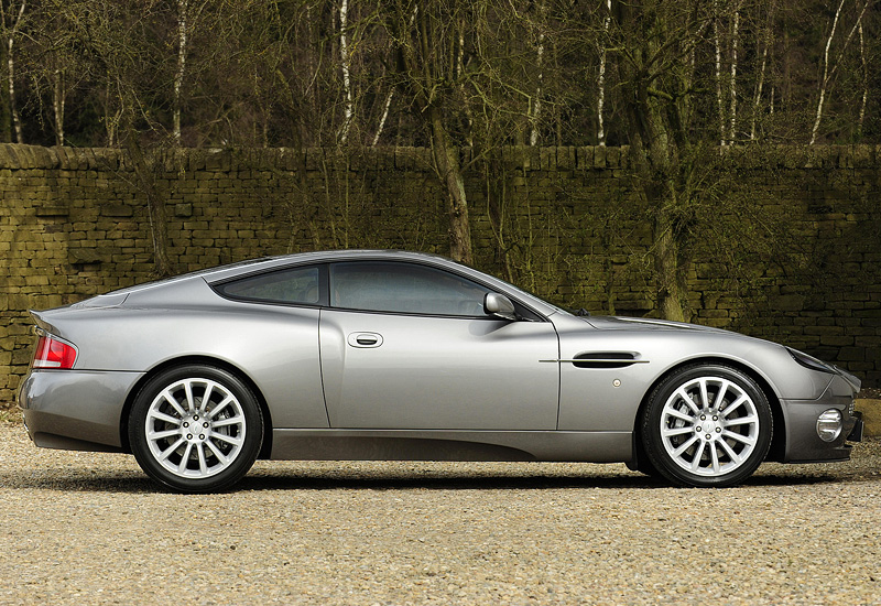2001 Aston Martin V12 Vanquish Specifications Photo