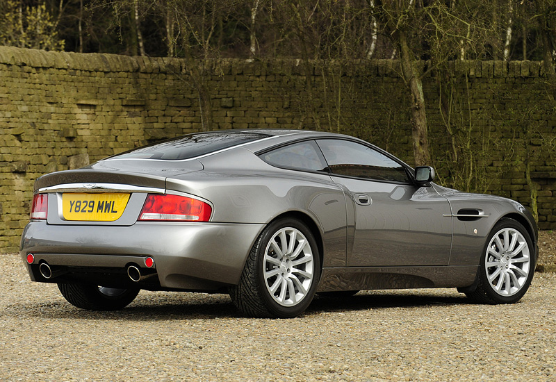 2001 aston martin v12 vanquish specifications photo price information rating. Black Bedroom Furniture Sets. Home Design Ideas