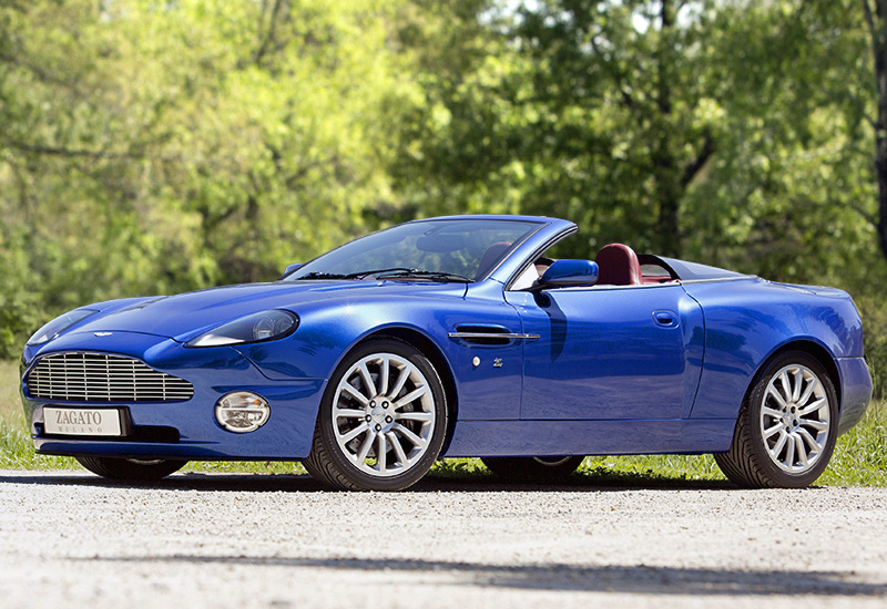 2004 aston martin vanquish zagato roadster specifications photo price information rating. Black Bedroom Furniture Sets. Home Design Ideas