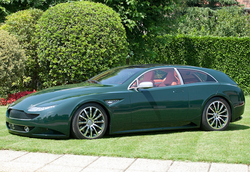 2007 Aston Martin Boniolo V12 Vanquish Eg Shooting Brake on aston martin v12 zagato
