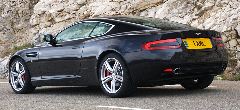 2008 Aston Martin DB9 - specifications, photo, price ...