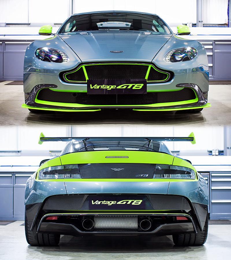 2016 Aston Martin Vanquish Camshaft: 2016 Aston Martin Vantage GT8