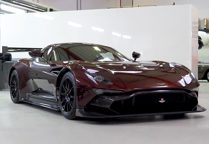 2017 Aston Martin Vulcan Street Legal By Rml Specifications