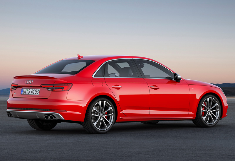 Audi S4 0-60 >> 2016 Audi S4 Sedan (B9) - specifications, photo, price, information, rating