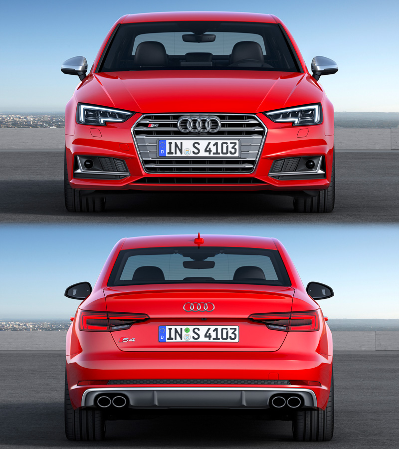 2016 Audi S4 Sedan B9 Specifications Photo Price