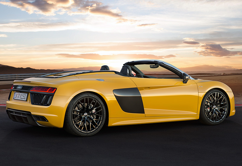 2017 audi r8 spyder specifications photo price information rating. Black Bedroom Furniture Sets. Home Design Ideas