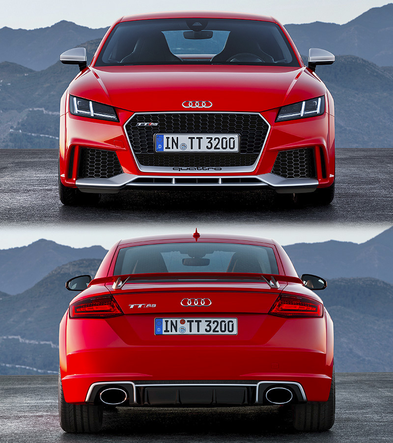 2017 audi tt rs coupe specifications photo price. Black Bedroom Furniture Sets. Home Design Ideas