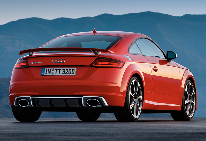 280 Kph To Mph >> 2017 Audi TT RS Coupe - specifications, photo, price, information, rating