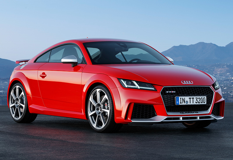 2017 audi tt rs coupe specifications photo price information rating. Black Bedroom Furniture Sets. Home Design Ideas