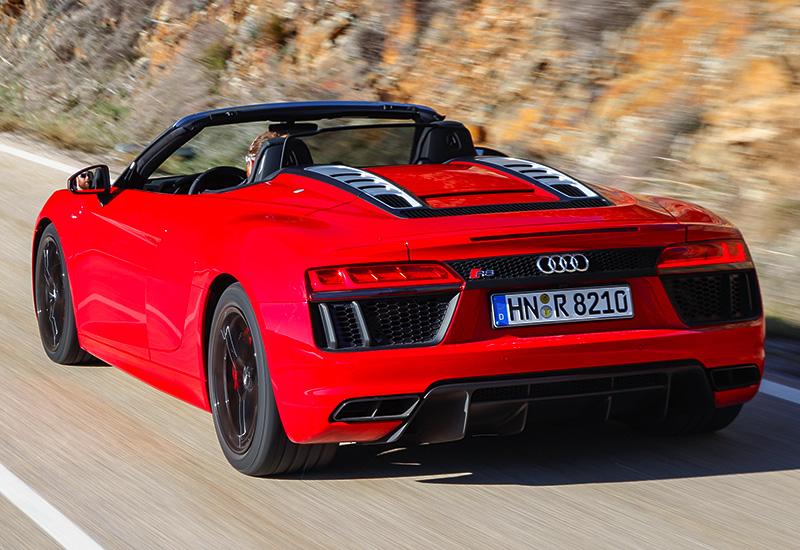 2018 Audi R8 V10 Spyder Rws Specifications Photo Price