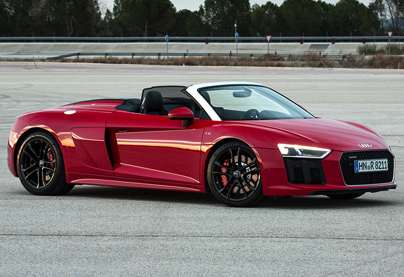 2018 audi r8 v10 spyder rws specifications photo price. Black Bedroom Furniture Sets. Home Design Ideas