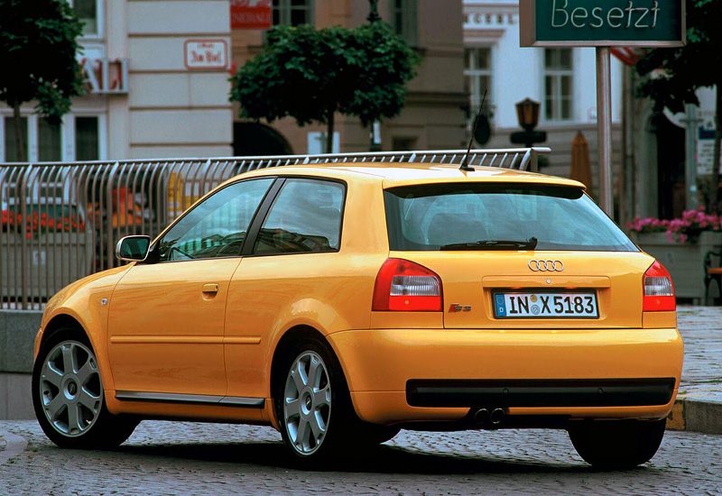 Audi Rs3 Sportback >> 1999 Audi S3 (8L) - specifications, photo, price ...