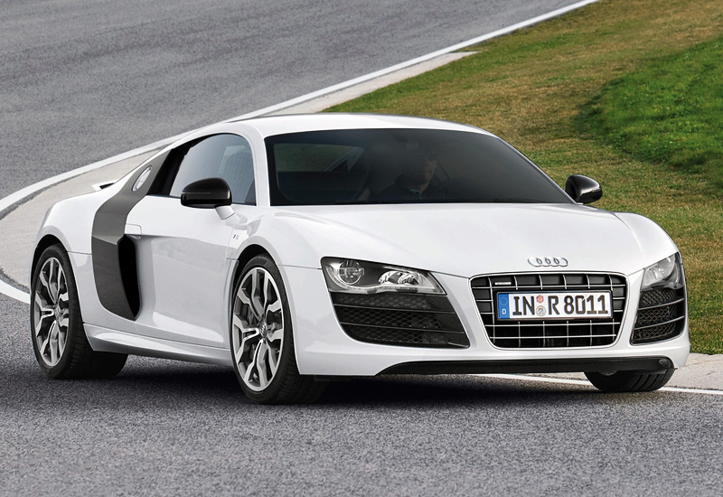 2009 audi r8 v10 specifications photo price. Black Bedroom Furniture Sets. Home Design Ideas