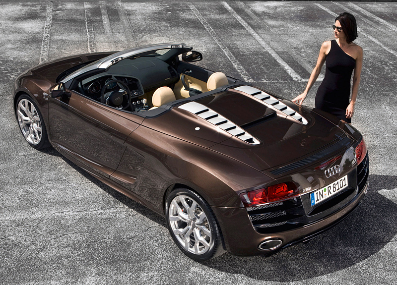 2009 audi r8 v10 spyder specifications photo price information rating. Black Bedroom Furniture Sets. Home Design Ideas