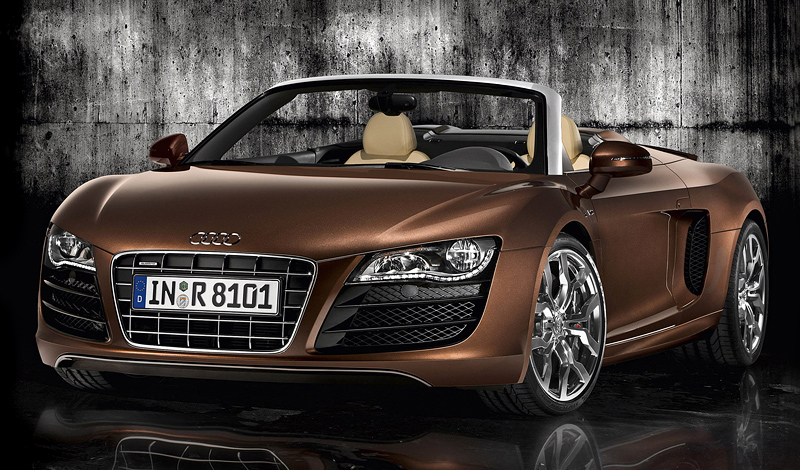 2009 audi r8 v10 spyder specifications photo price. Black Bedroom Furniture Sets. Home Design Ideas