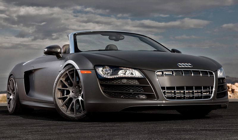 Audi r8 v10 plus top speed 16