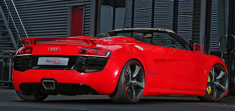 2011 Audi R8 Spyder Sport-Wheels