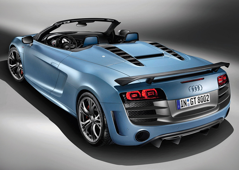 2011 Audi R8 Gt Spyder Specifications Photo Price