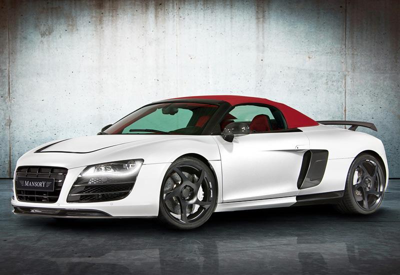 2012 Audi R8 Spyder Mansory Specifications Photo Price