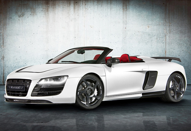 Audi R Spyder Mansory Specifications Photo Price - Price of audi r8