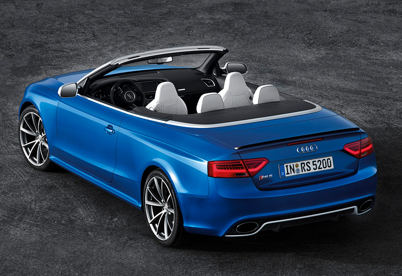 2013 audi rs5 cabriolet specifications photo price. Black Bedroom Furniture Sets. Home Design Ideas