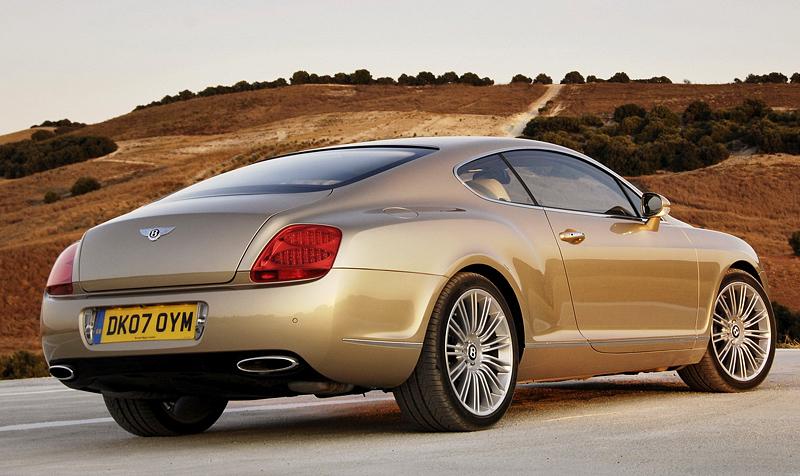 Top car ratings 2007 Bentley Continental GT Speed