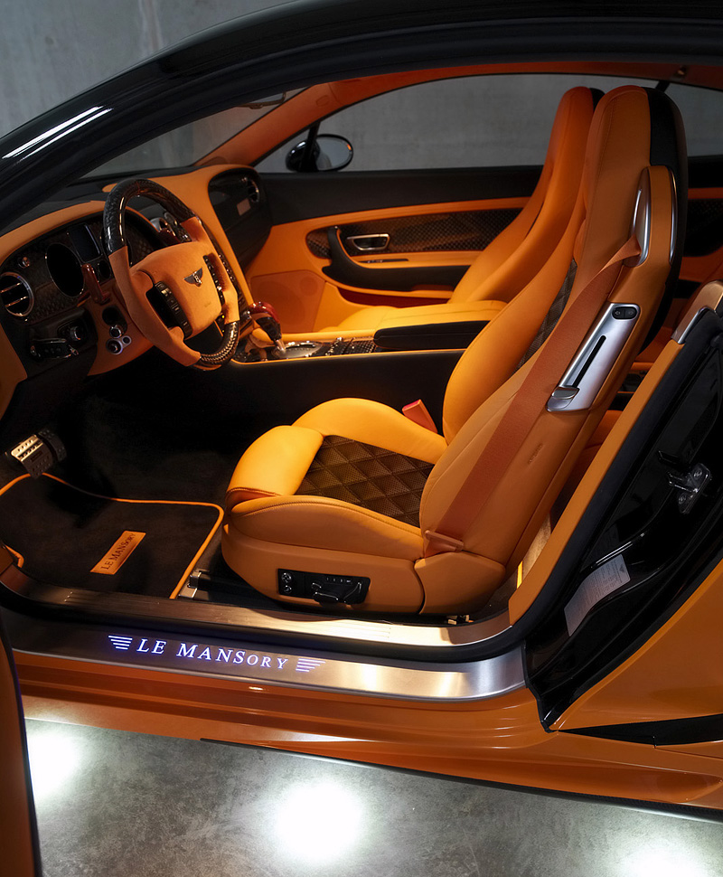 Top Car Ratings: 2008 Bentley Continental GT Le Mansory
