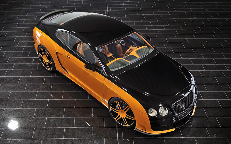 Top Car Ratings 2008 Bentley Continental Gt Le Mansory