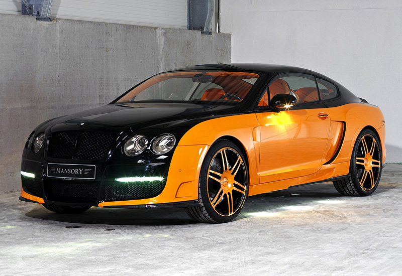 2008 Bentley Continental Gt Le Mansory Specifications Photo