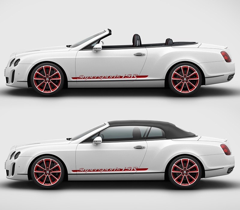 Bentley Convertible Price: 2011 Bentley Continental Supersports Convertible ISR