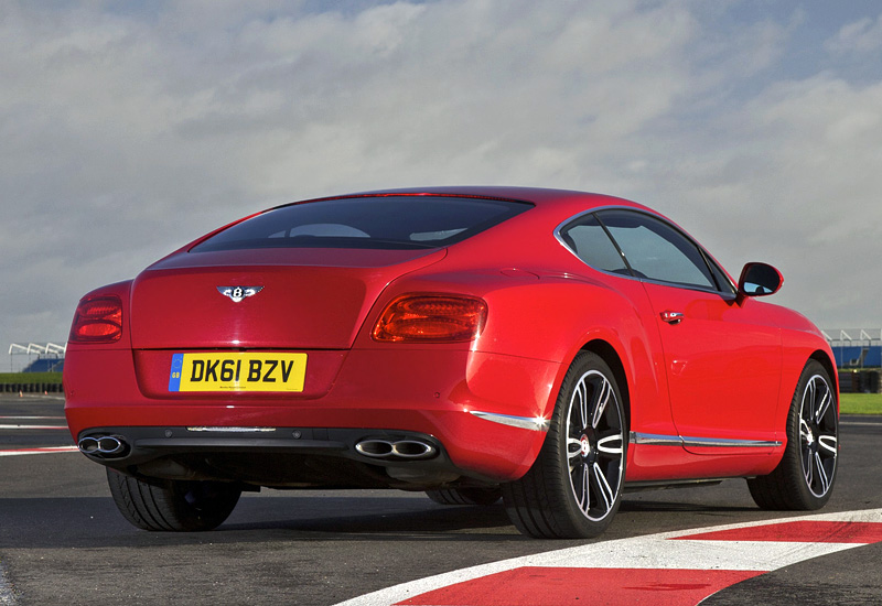 2012 Bentley Continental Gt V8 Specifications Photo