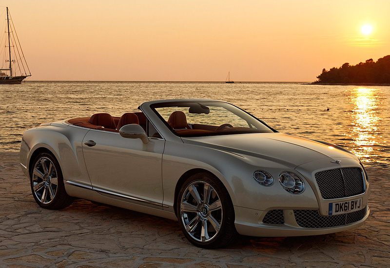 2012 Bentley Continental Gtc Specifications Photo