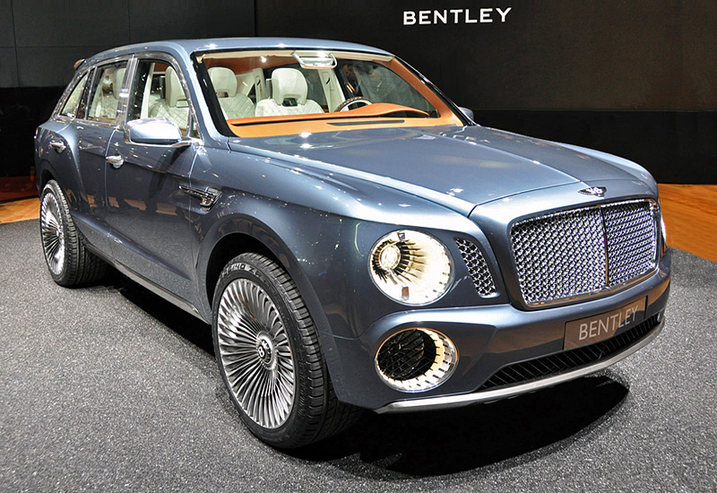 Top car ratings: 2012 Bentley EXP 9 F Concept