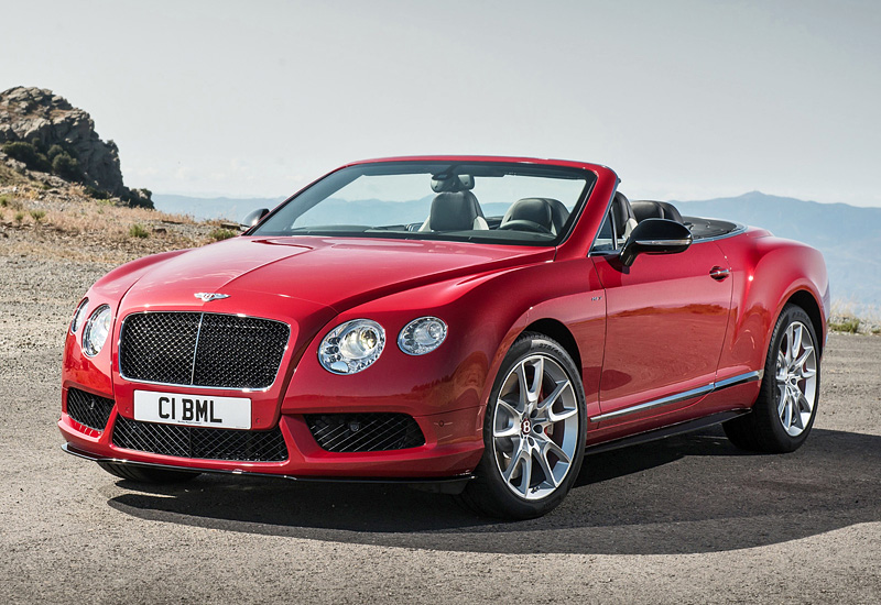 2014 Bentley Continental Gt V8 S Convertible
